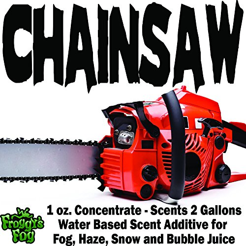 1 oz. CHAINSAW - Water Based Scent Additive for Fog, Haze, Snow & Bubble Juice - Scents 2 Gallons -