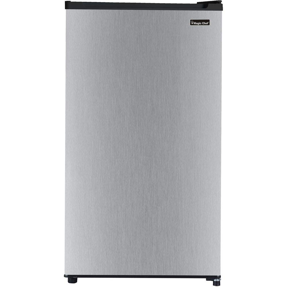 Magic Chef 3.2 Cu. Ft. Compact All-Refrigerator with Stainless Steel Door