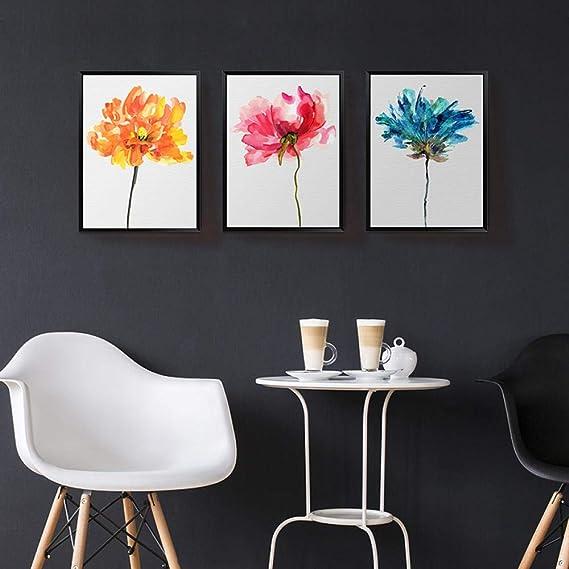 Pittura decorativa semplice soggiorno moderno acquerello ...