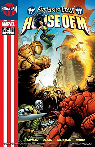 Fantastic Four: House Of M #1 (of 3) (Fantastic Four House)
