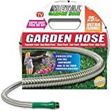 Metal Garden Hose (25'), the Original 304 Stainless Steel Hose