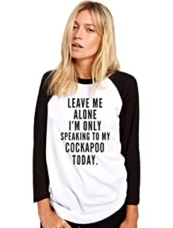 Leave Me Alone I/'m Only Talking To My Cockapoo Kids Sweatshirt