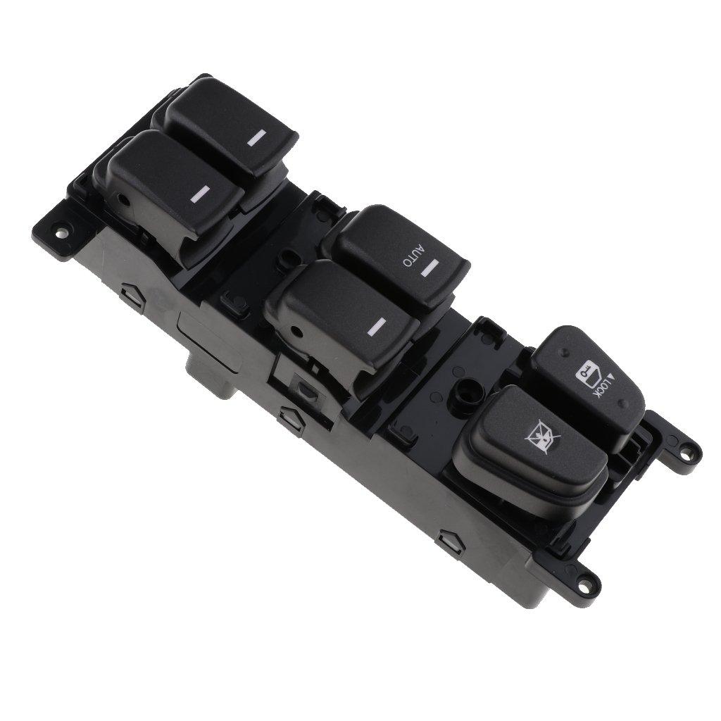 Interruptor de Ventana de Lado Delantero Izquierdo para Hyundai Sonata 2.4L/&3.3L 2008 2009 2010