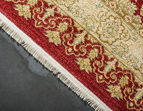 Unique Loom Edinburgh Collection Oriental Traditional French Country Red Area Rug (8' 0 x 11' 0)