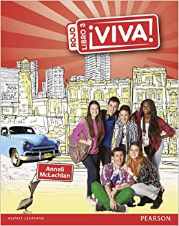 Viva! Pupil Book 3 Rojo