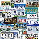 Assorted Replica License Plates, Prop Number