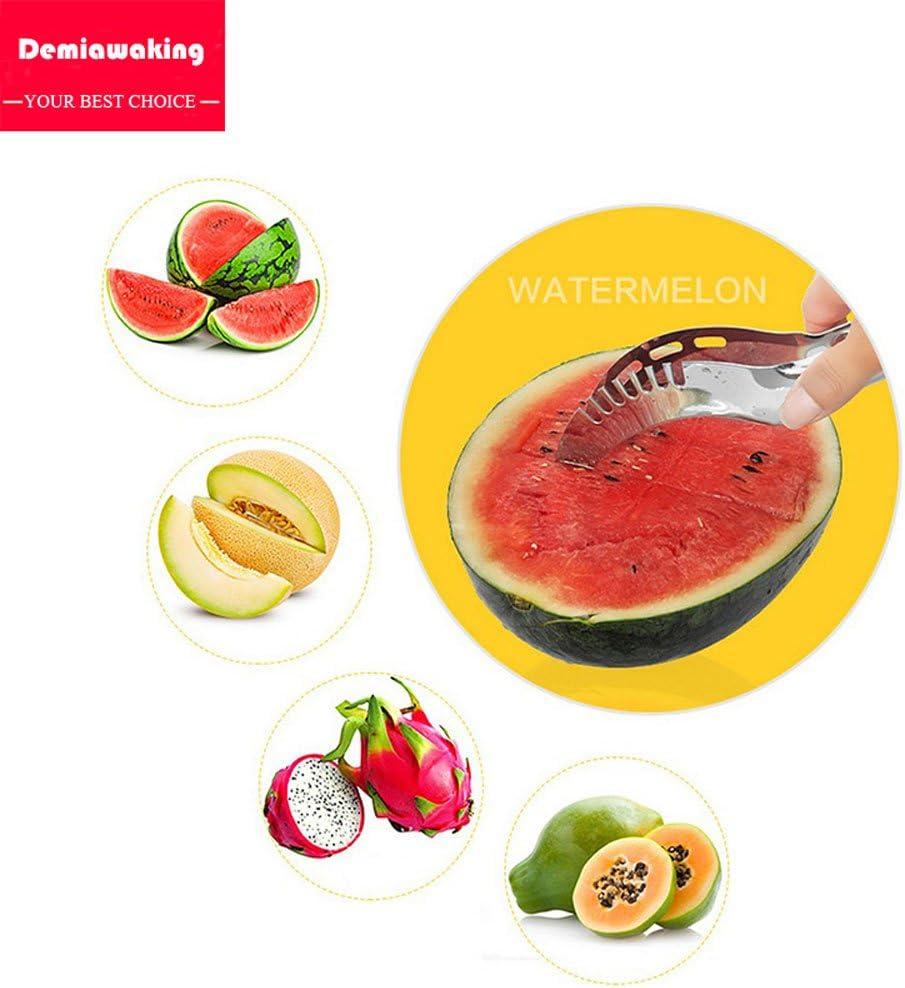 Adecuado Para Manzana Tomate Mel/ón Fruta Cortador//Divisor De Fruta Pera Cortador De Fruta De Sand/ía Cortador De Fruta