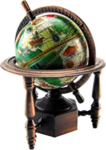 TG,LLC Treasure Gurus 1:12 Miniature World Globe Dollhouse/Diorama Accessory Die Cast Pencil Sharpener