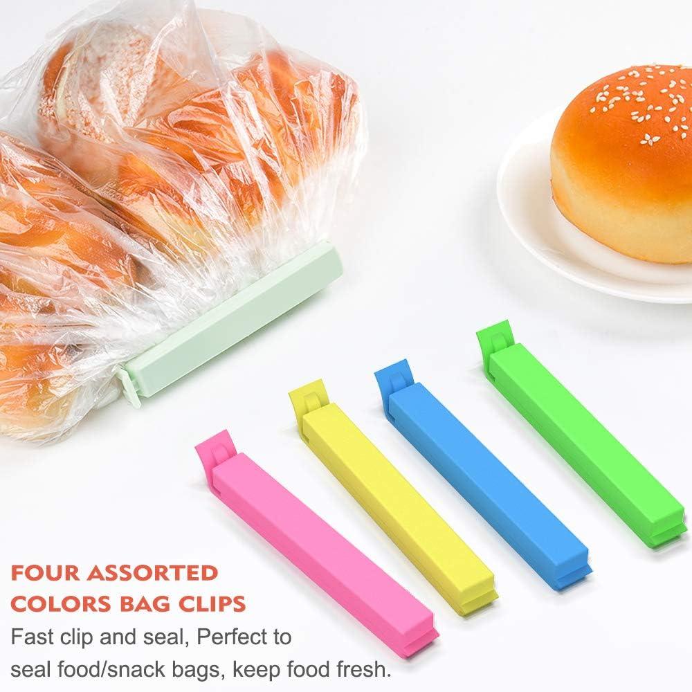 New 13 Pack Assorted FOOD BAG CLIPS Freezer Fridge Sealing Clips Durable UK ✔