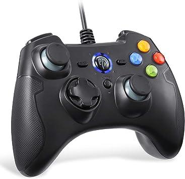 EasySMX Mandos PS3 Gamepad, Game Mando PC Joystick con los Botones ...