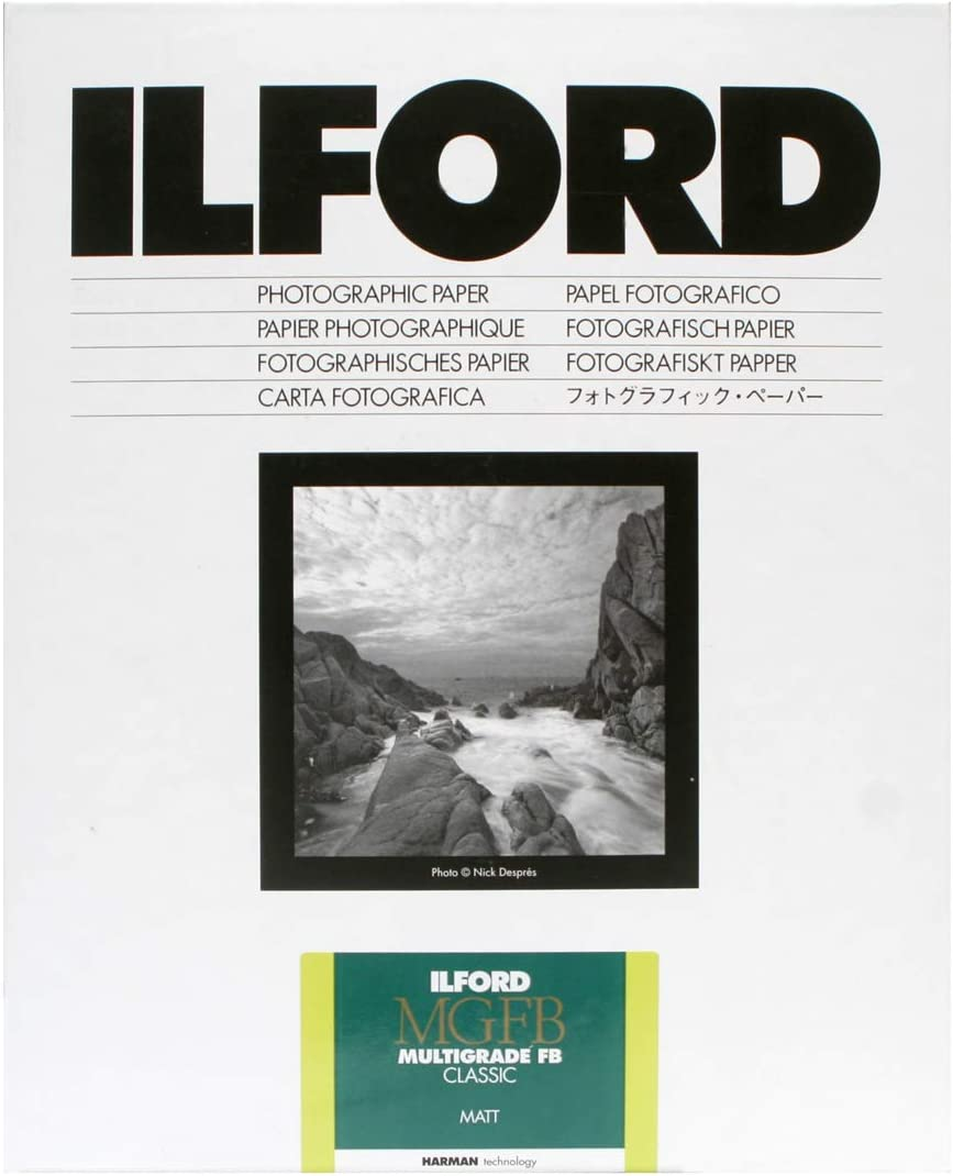 "Ilford Multigrade FB Classic, Enlarging Paper 5x7"", 100 Sheets, Matte"