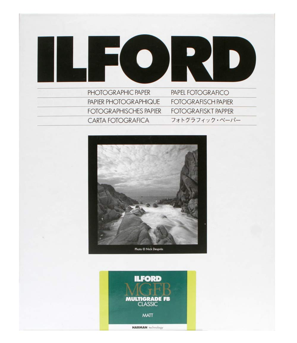 Ilford Multigrade FB Classic Matte Variable Contrast Paper (5 x 7'', 100 Sheets) by Ilford