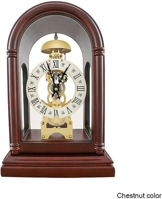 Fengfeng Mantel Relojes, Escritorio Mesa Reloj Antiguo Alarma ...