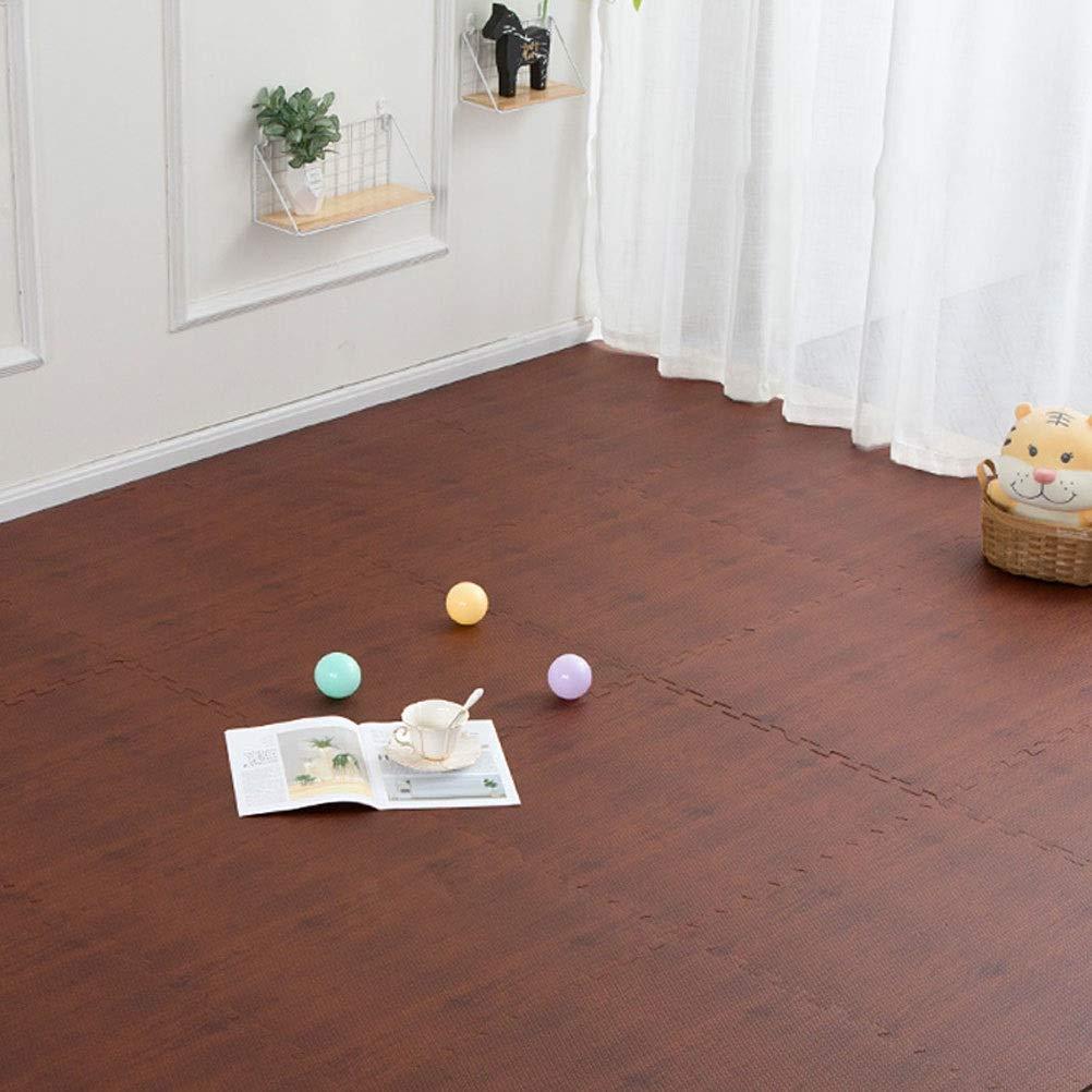B 30x30x1.9cm [16 pieces] LUYIASI- Le tapis de jeu de mousse de bébé EVA tapis couvre-tapis de jouets pour les voiturereaux de plancher d'exercice imbriqués des enfants blanket (Couleur   B, Taille   30x30x1.9cm [32 pieces])