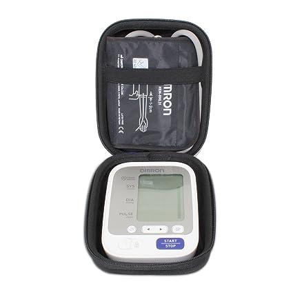 VIVENS Viajar Difícil Caso Bolso para Omron M3 HEM-7131-E Monitor de presión Arterial automático