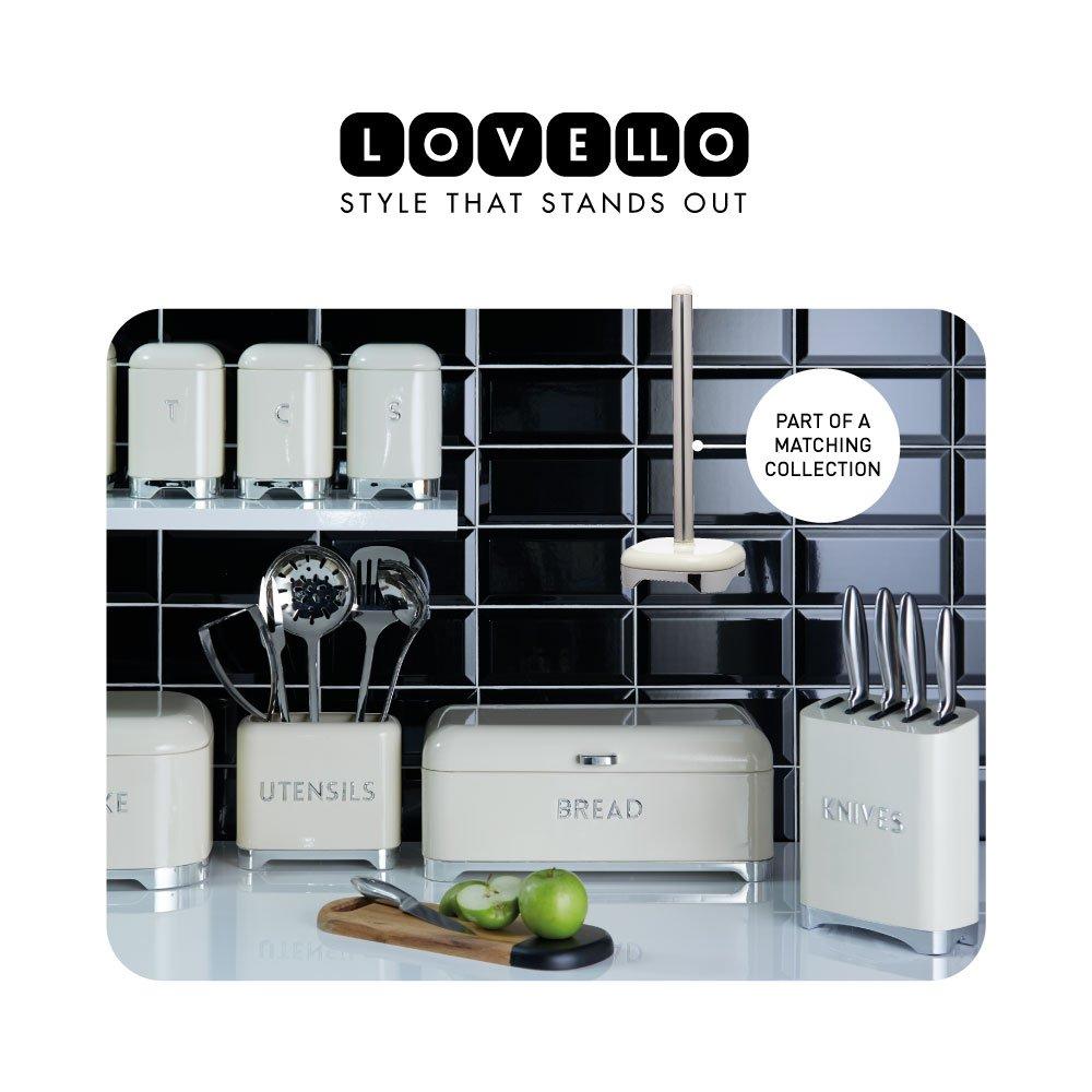 KitchenCraft Soporte para rollos de cocina talla /única color crema vainilla