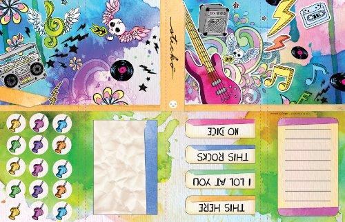 EK Success Sticko Stationery Kit, Doodle It Tunes
