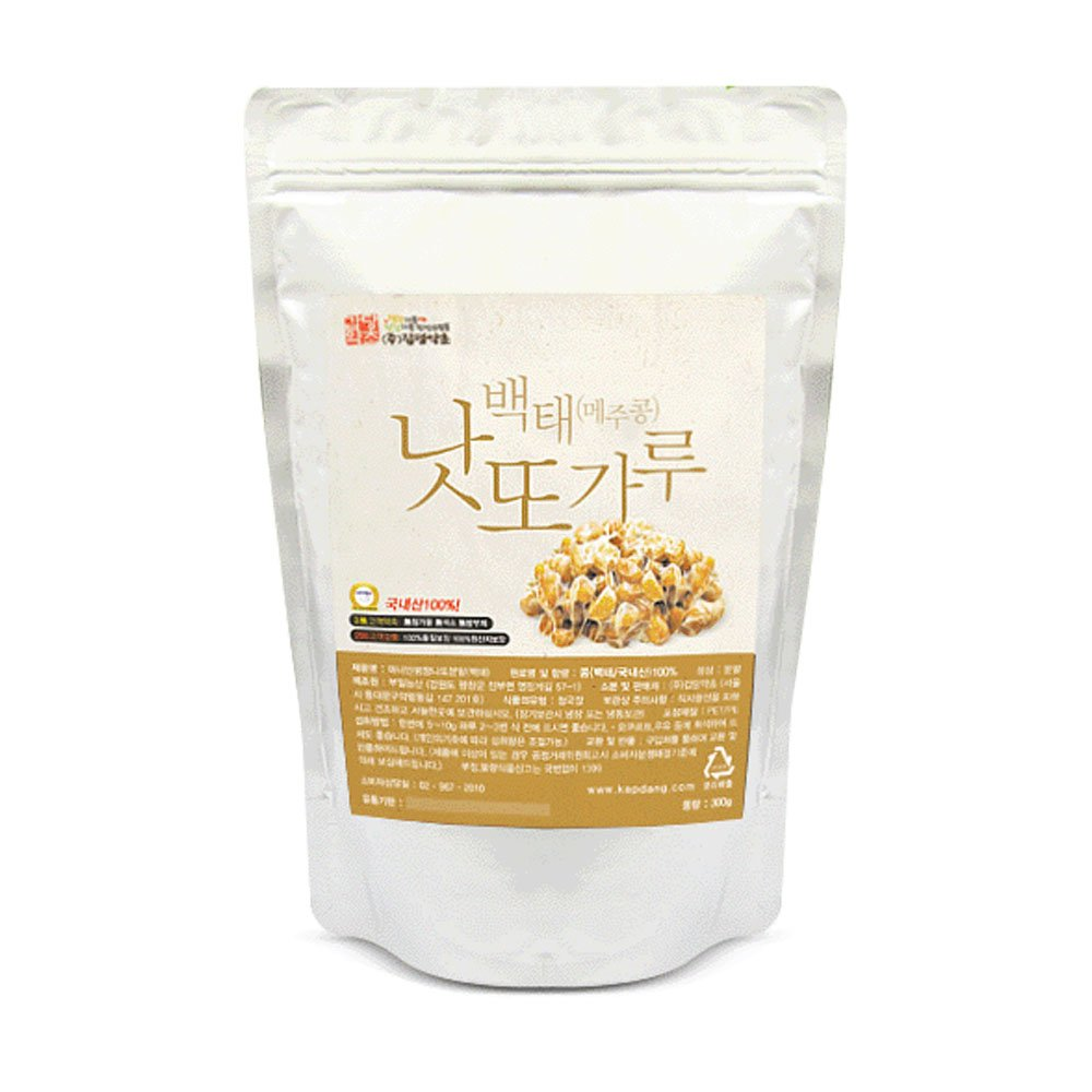 Soybean Natto Powder 100% Natural Nattokinase Freeze-Dried Fermented Food Vitamin K2 300g by K-Herb