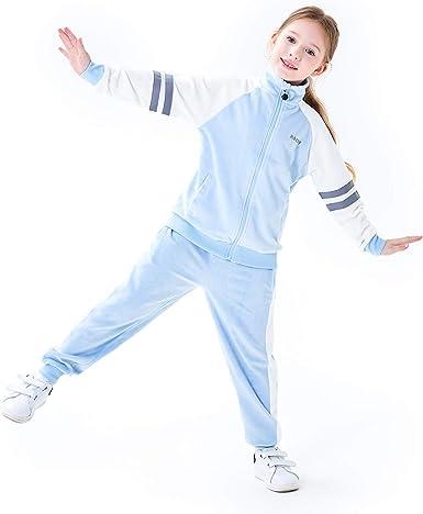 Girls Tracksuit Unicorn Jogging Suits Sets for Kids Girls Size 4-14