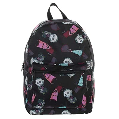 Nightmare Before Christmas Bioworld All Over Print (AOP) Sublimated Backpack: Computers & Accessories