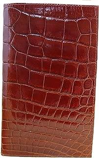 "product image for Cognac Alligator""Pocket Secretary"""