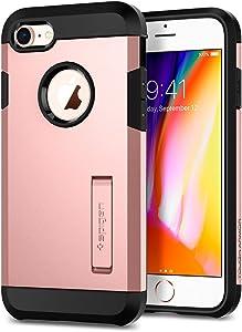 Spigen Tough Armor [2nd Generation] Designed for Apple iPhone 8 Case (2017) / Designed for iPhone 7 Case (2016) - Rose Gold