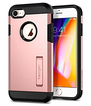 coque iphone 8 spigen rose