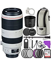 Canon EF 100-400mm f/4.5-5.6L IS II USM Lens Bundle with Accessory Kit (17 items)