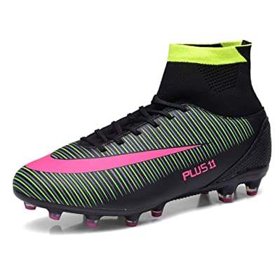 01c27e4d022 FCSHOES Men s Kids Ankle High Tops Soccer Cleats