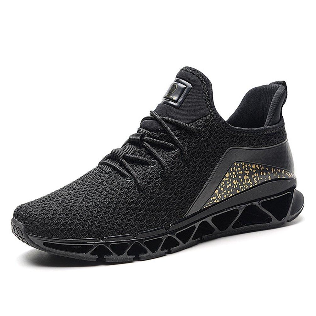 LFEU Zapatillas de Running de Malla Hombre 40 EU|Negro