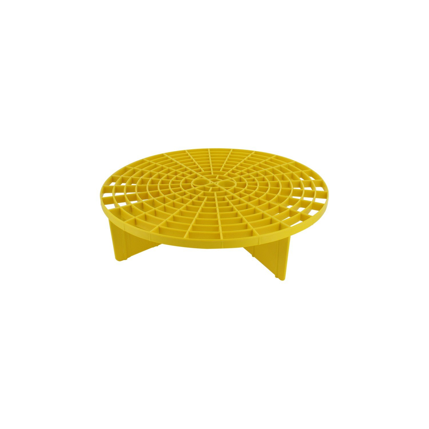 Grit Guard Insert (Yellow) - Fits 12 inch Diameter Bucket with Black Washboard