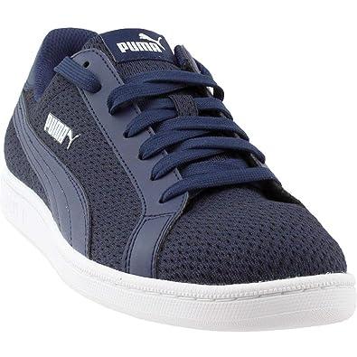6bc91543fb2b PUMA Men s Smash Knit C Navy Sneaker (11