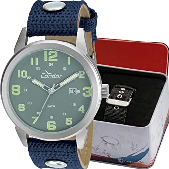 8c652f5b5 Relógio Masculino Condor Analógico Troca Pulseira Co2115Umtdy/C Prata