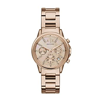 Image Unavailable. Image not available for. Color  Armani Exchange Women s  AX4326 Rose Gold Watch 3d5049d2f