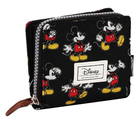 Karactermania 36548 Disney Classic Mickey Moving Monederos, 11 cm, Negro