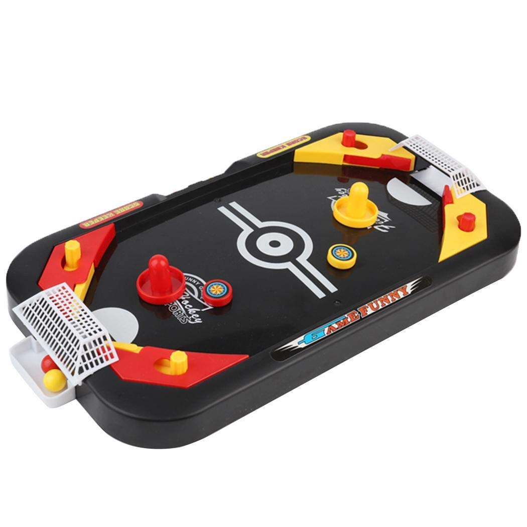 Dickin Desktop 2 in 1 Football Game Mini Hockey Table Children Interactive Toy by Dickin
