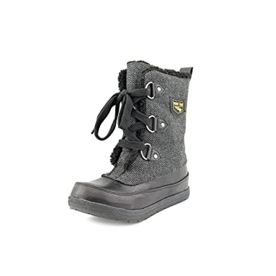 Amazon.com | Rocket Dog Tina Women Round Toe Canvas Gray Winter ...