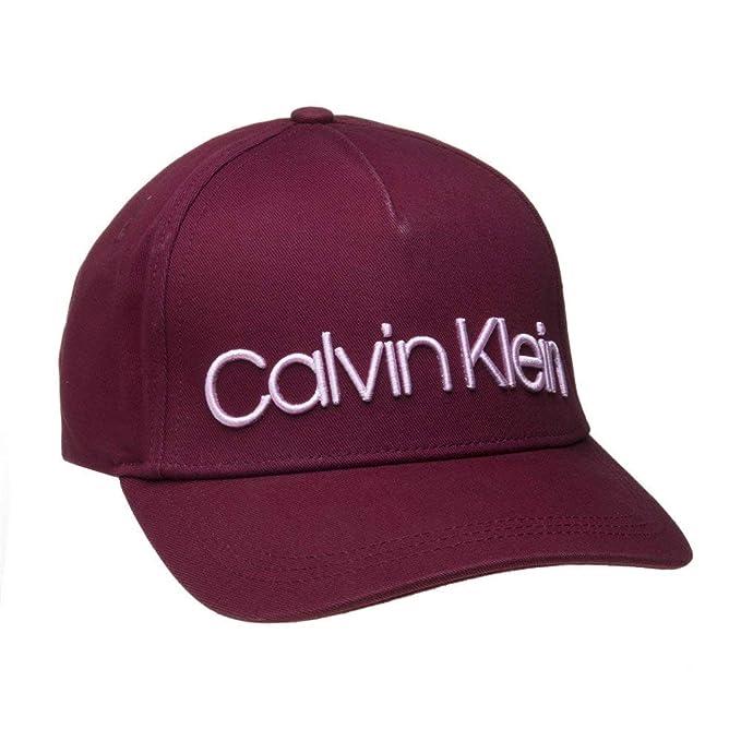 Calvin Klein Mujer Calvin Race Cap W Gorra de béisbol, Marrón (Bordeaux 242)