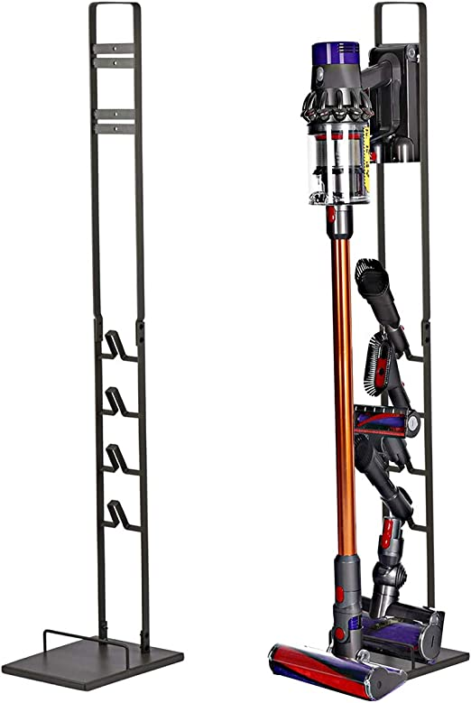 Doubleblack Soporte para Aspirador Dyson V6/V7/V8/V10 y Accesorios-Negro: Amazon.es: Hogar