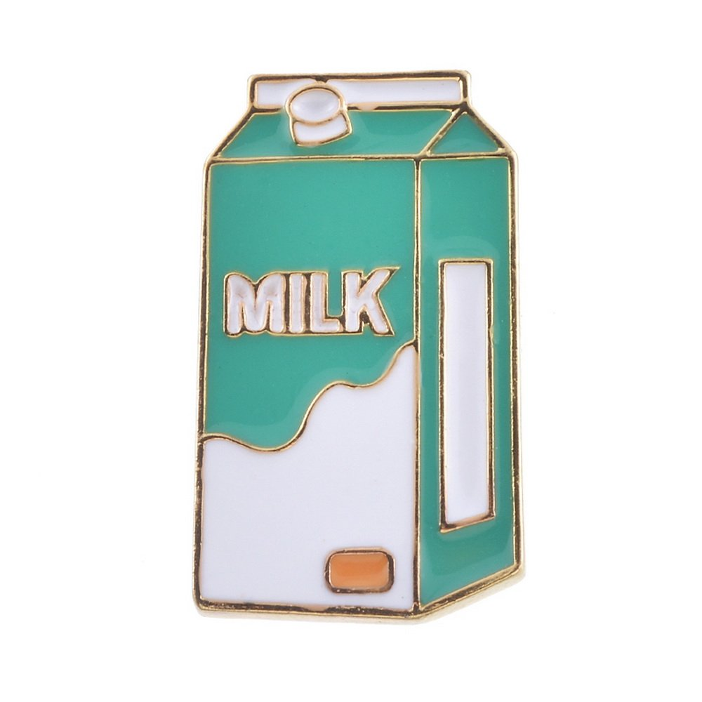 MJARTORIA Novelty Cartoon Brooch Pin Cute Milk Enamel Pin Badge XIEHOU XHA0AG7A5AX