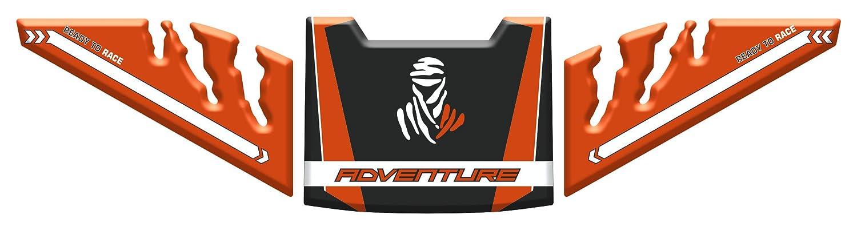 Protection de Reservoir Moto Autocollant en Gel compatible pour K.T.M 790 Adventure Kit Tankpad Sticker