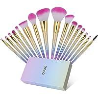 Eono by Amazon - Set de Brochas de Maquillaje 16Pcs Professional, Premium Pinceles de Maquillaje para Fundación Sonrojo…
