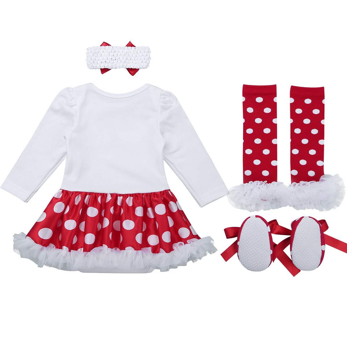 Amazon.com: TiaoBug Infant Baby Girls Xmas Christmas Stocking Santa ...