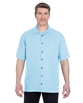 eda3f866c4ec UltraClub Men s Cabana Breeze Camp Shirt at Amazon Men s Clothing store