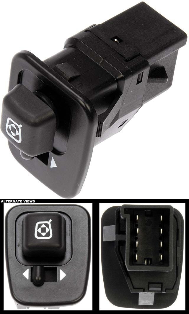 APDTY 012443 Power Window Switch Fits Front Driver Side Left On Select 1995-2008 Ford & Mercury Models (See Description For Fitment Details; Replaces F5TZ-17B676-A, F5TZ17B676A)