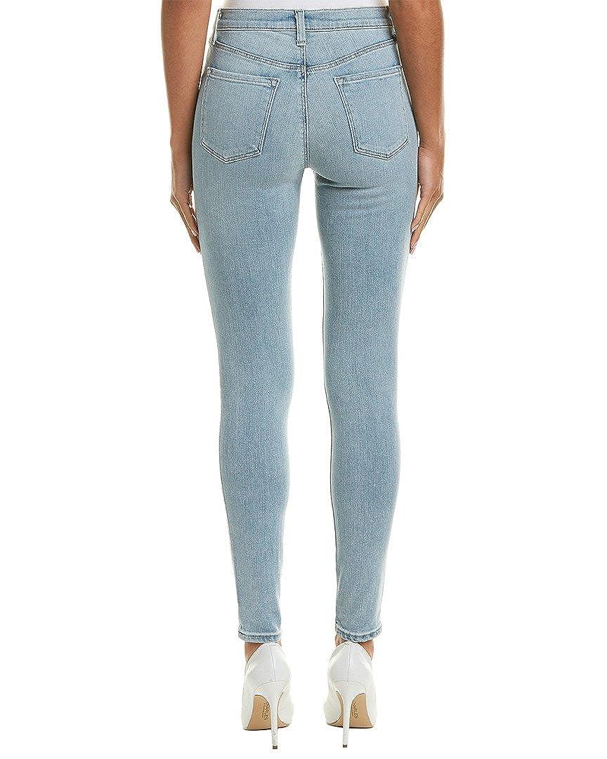0474e1c610dc Amazon.com  J Brand Womens Maria High Rise Faded Skinny Jeans Blue 29   Clothing