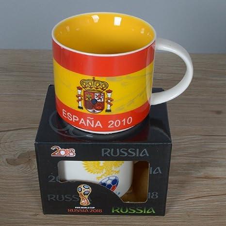 VIO Taza de cerámica de la taza de mundo de Rusia Taza creativa de ...