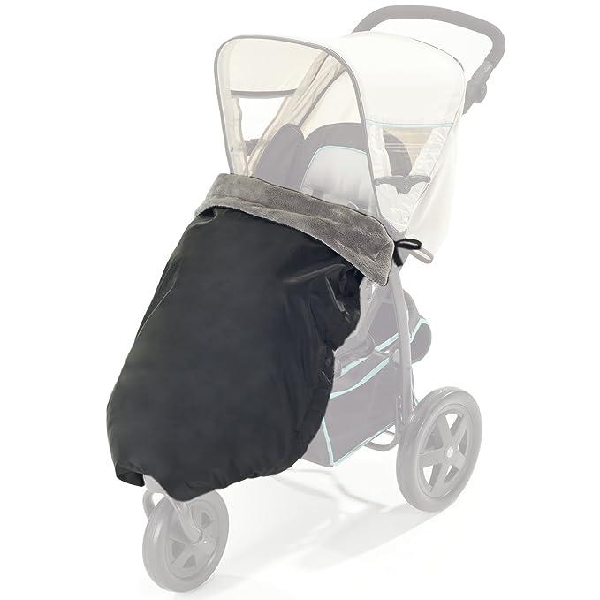 DIAGO 30055.90771 - Manta térmica para cochecito de bebé (100 x 75 cm), color negro y gris: Amazon.es: Bebé