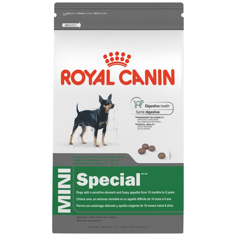 royal canin size health nutrition mini special dry dog food ebay. Black Bedroom Furniture Sets. Home Design Ideas
