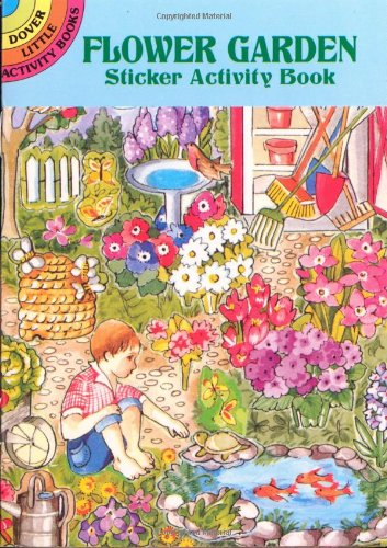 Read Online Flower Garden Sticker Activity Book (Dover Little Activity Books) pdf epub
